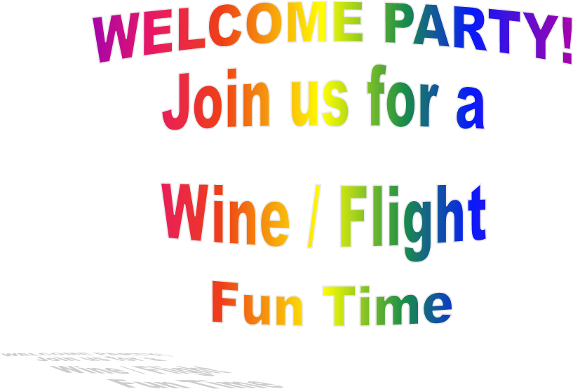 WELCOME PARTY!Join us for a Wine / Flight Fun Time: ncigc.net/2013Welcomeparty-Puppymatch.htm